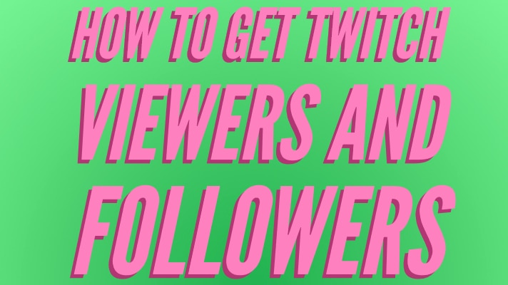 How to get Twitch Viewers and Followers title, but green and pink